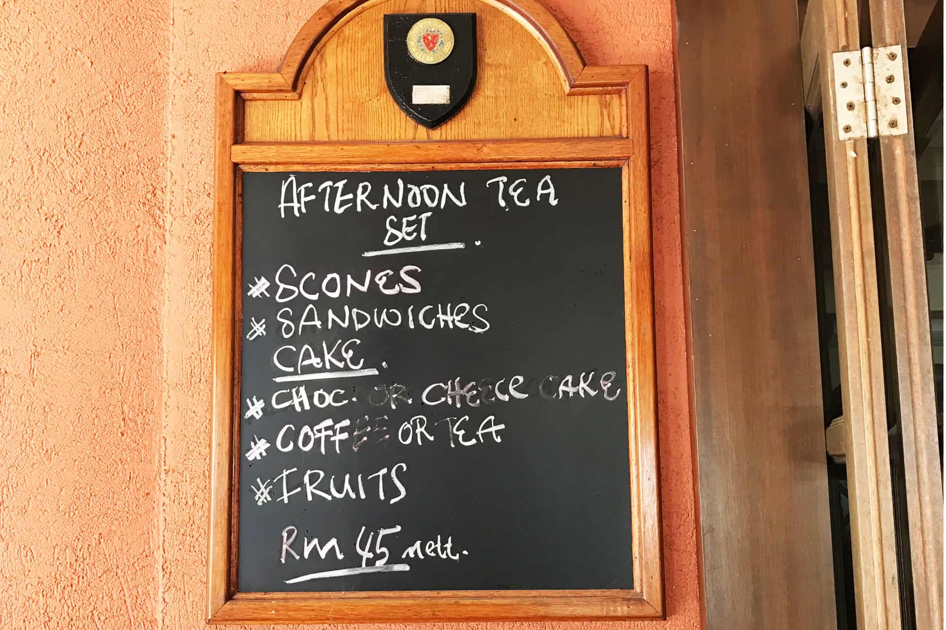 Afternoon Tea Price and Menu