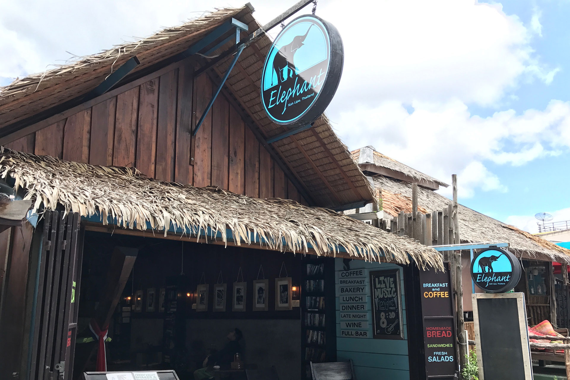 Elephant Cafe Koh Lipe at Koh Lipe Walking Street