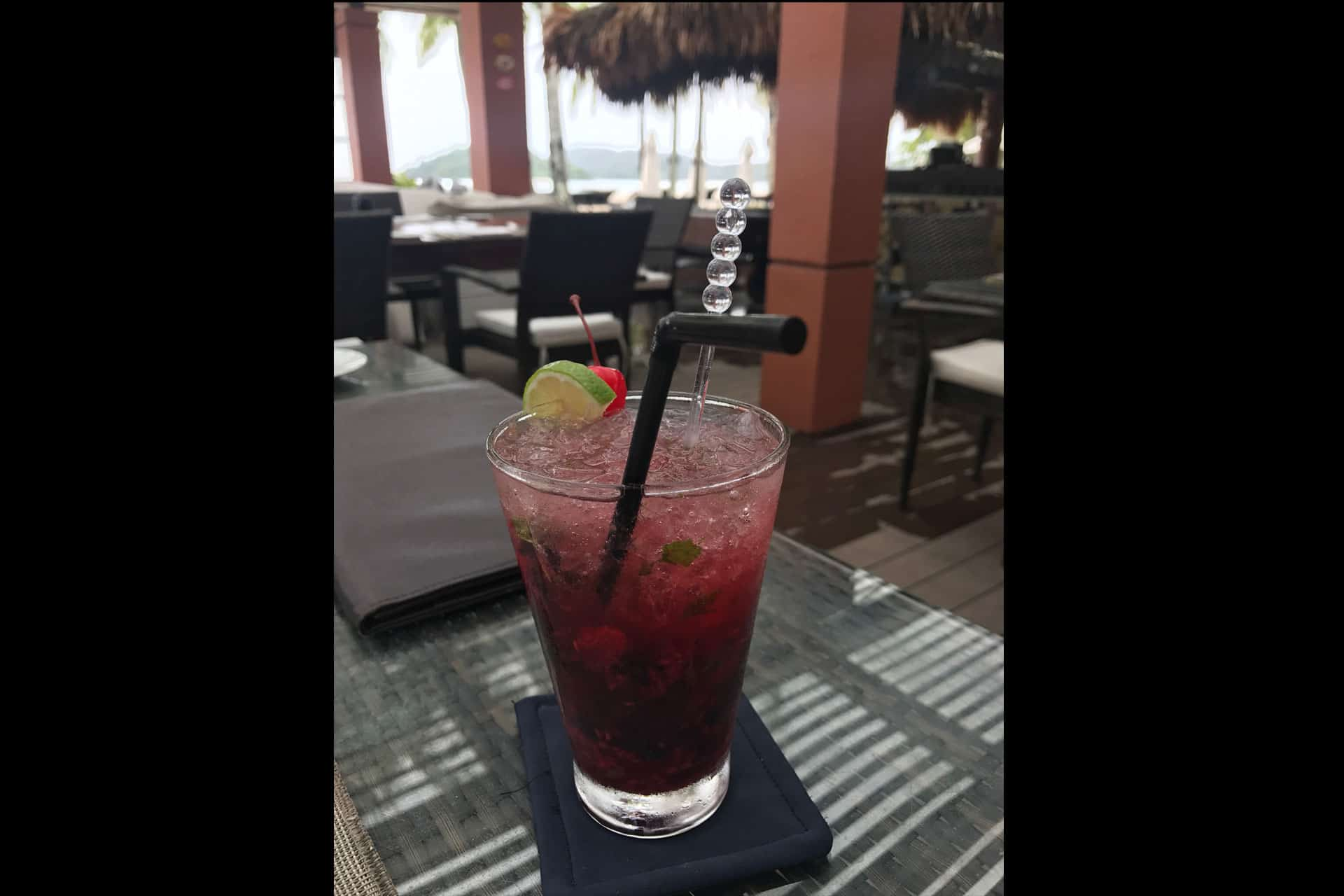 Raspberry Mojito at La Sal,Langkawi