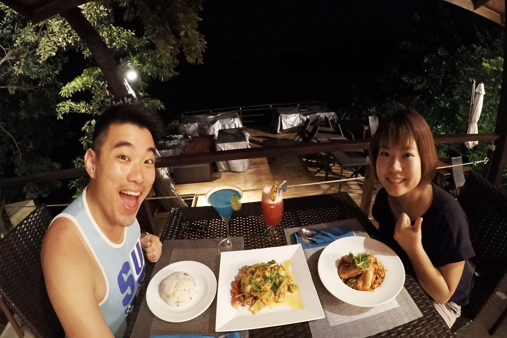 The Cliff Restaurant Koh Lipe Dinner