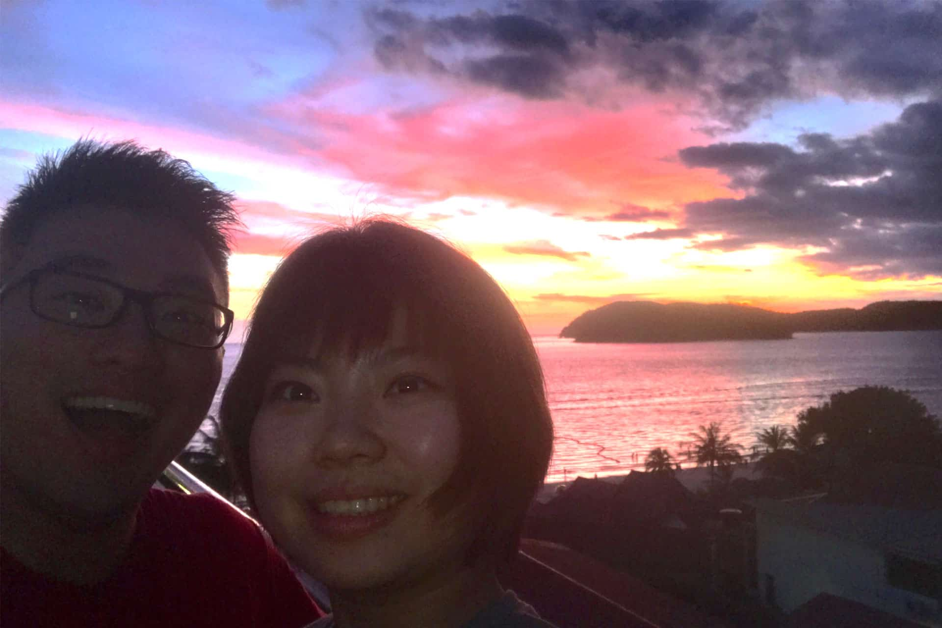 Wefie with Sunset Langkawi