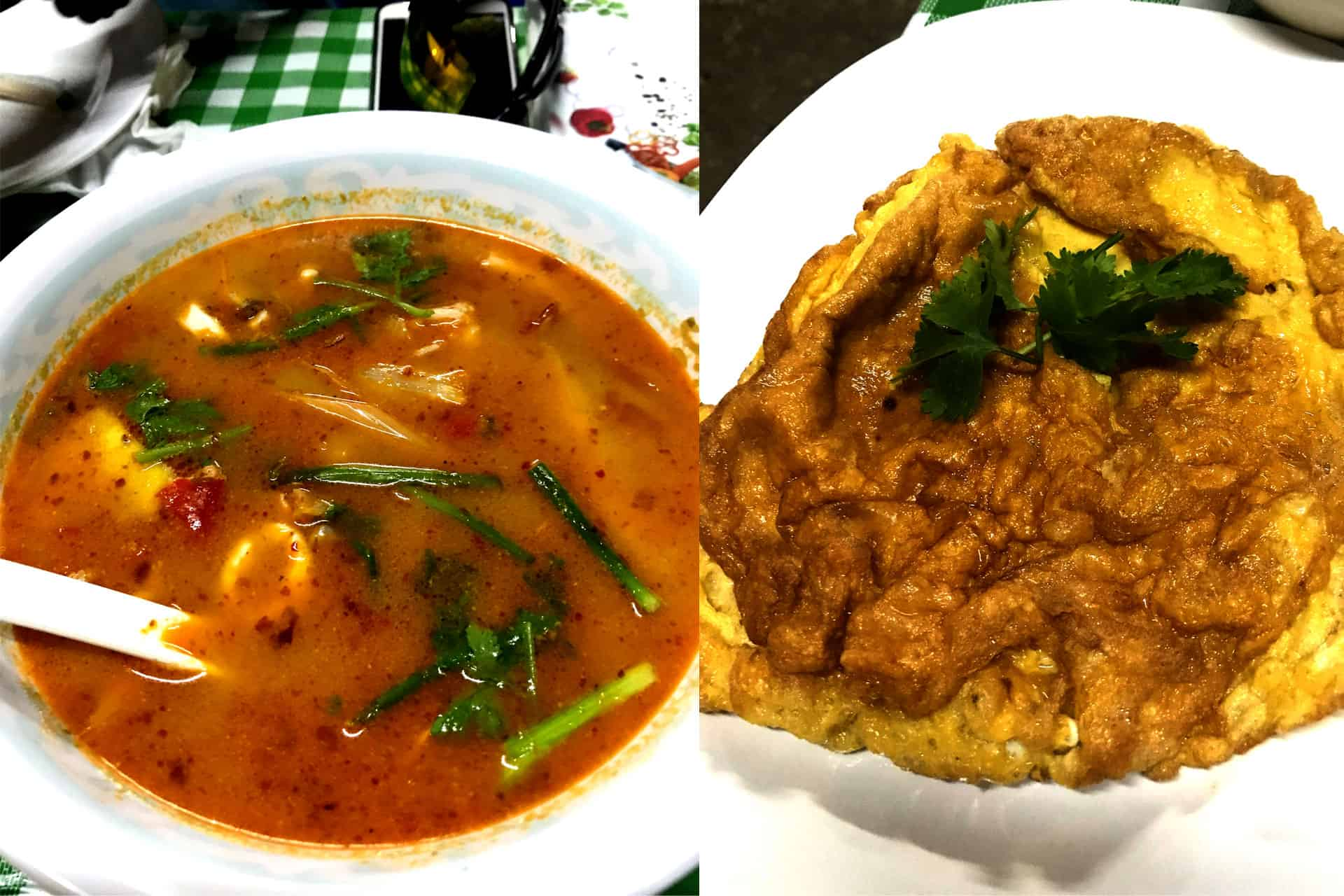 Haris Kitchen - The Best Tom Yam and Fried Omelette in the Koh Yao Yai
