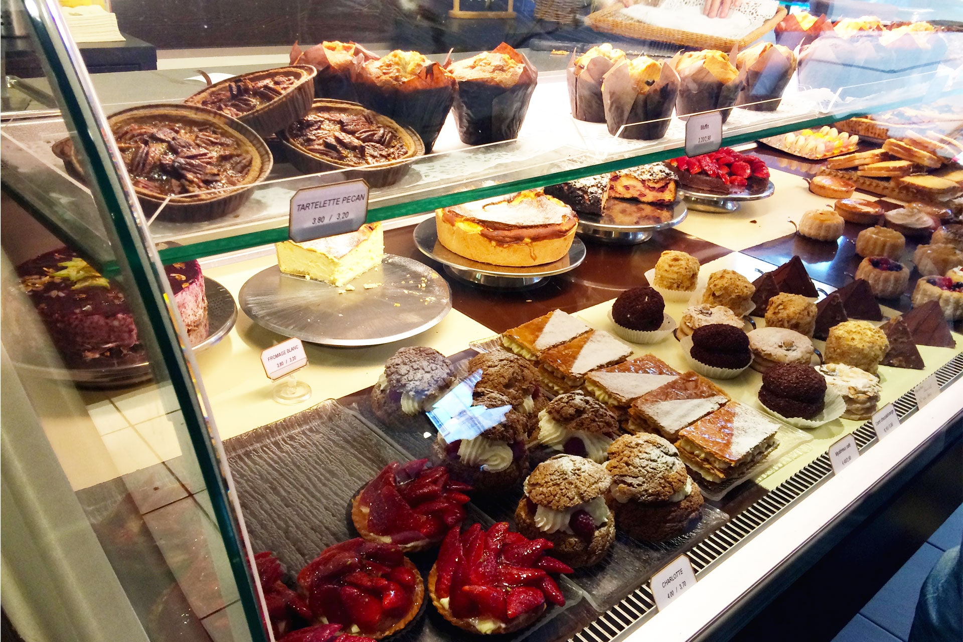 The pastries at La Part the! Are you feeling hungry already?