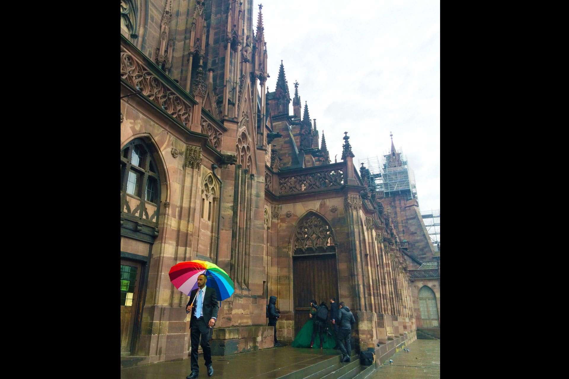 Notre Dame of Strasbourg on a rainy day!