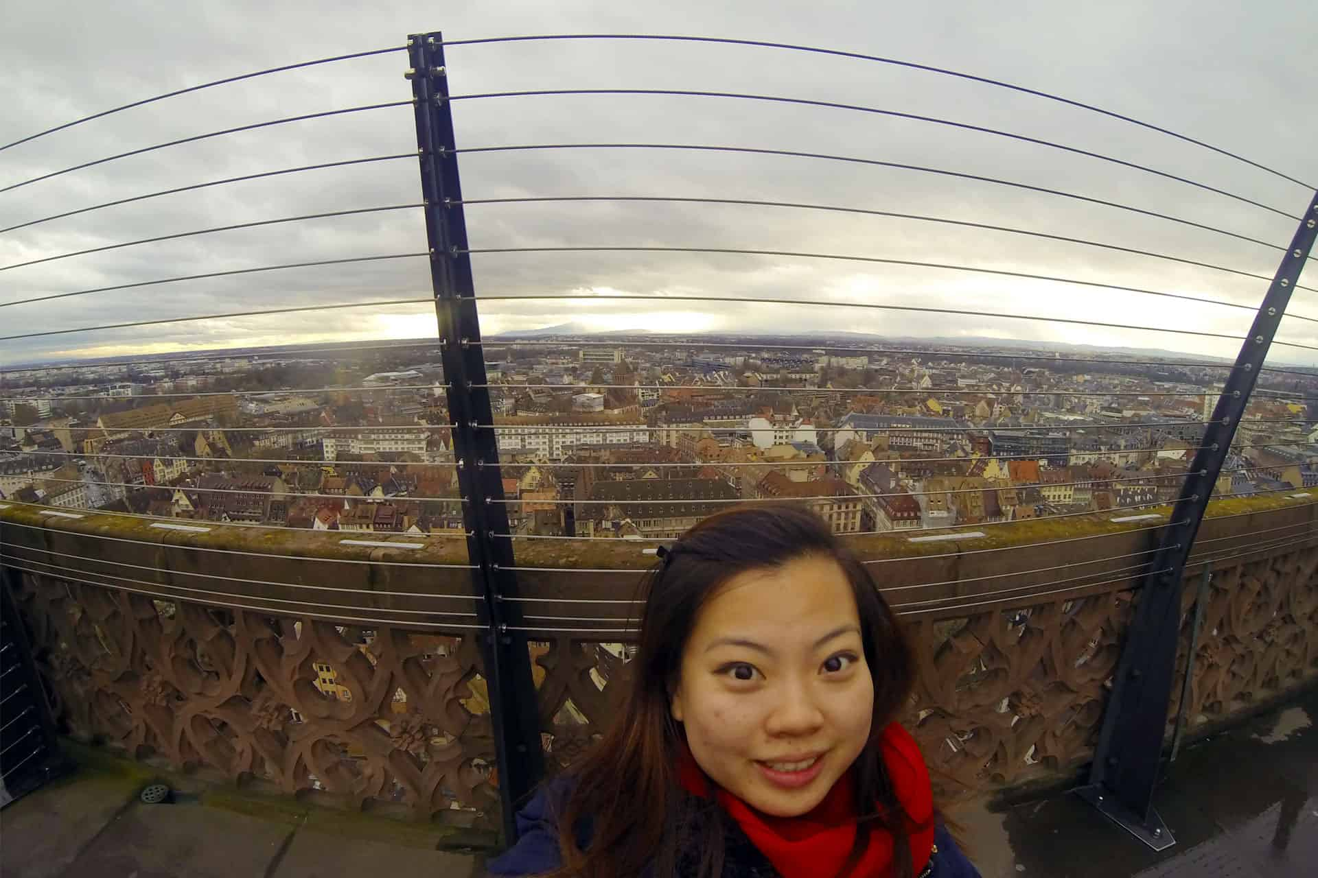 Capturing the amazing city view of Strasbourg