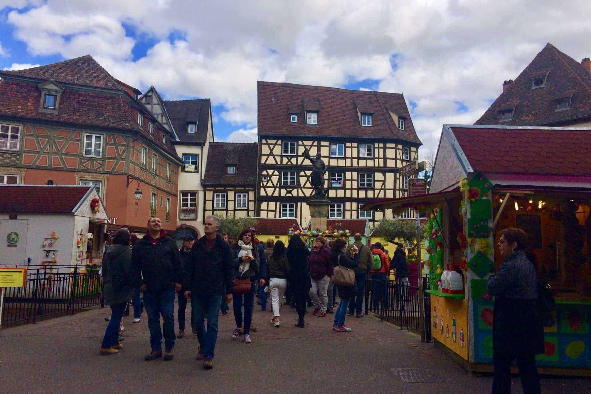 Easter market at Place de l'Ancienne Douane