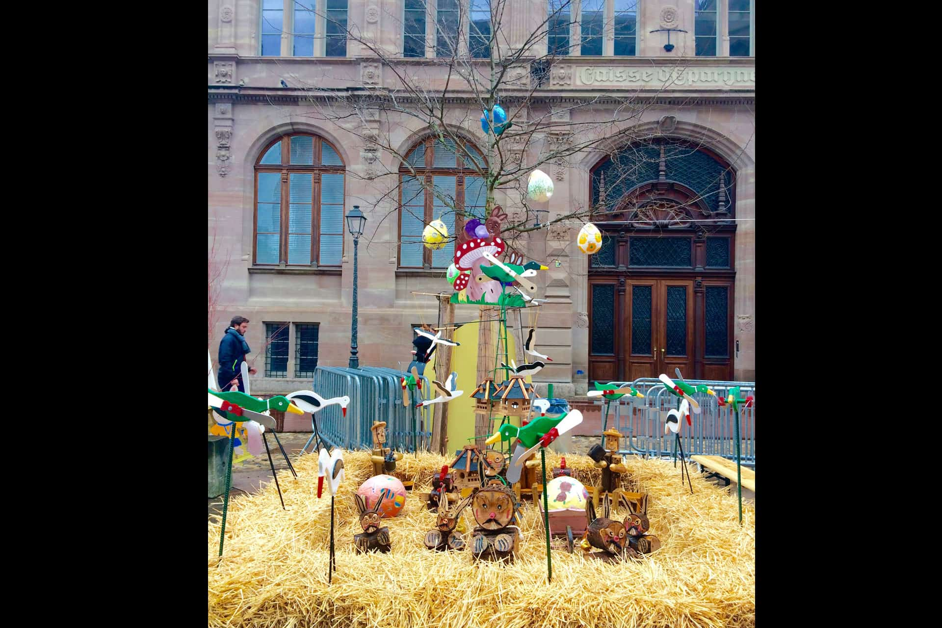 Easter tree Strasbourg